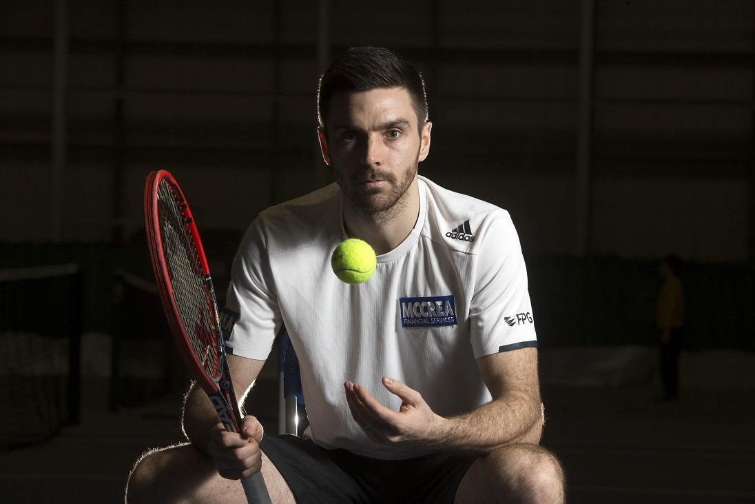 Colin Fleming is the first Tennis Scotland's first national coach since 2010