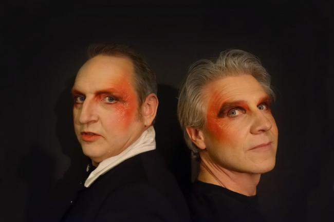 David Archibald and Carl Lavery are academics who draw on glam rock in their dialogue piece