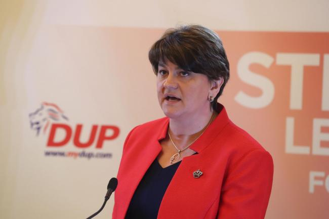 Arlene Foster was forced to step down as First Minister of Northern Ireland