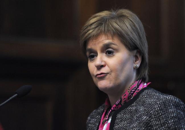 Nicola Sturgeon told colleagues not to refer to a future independence vote as