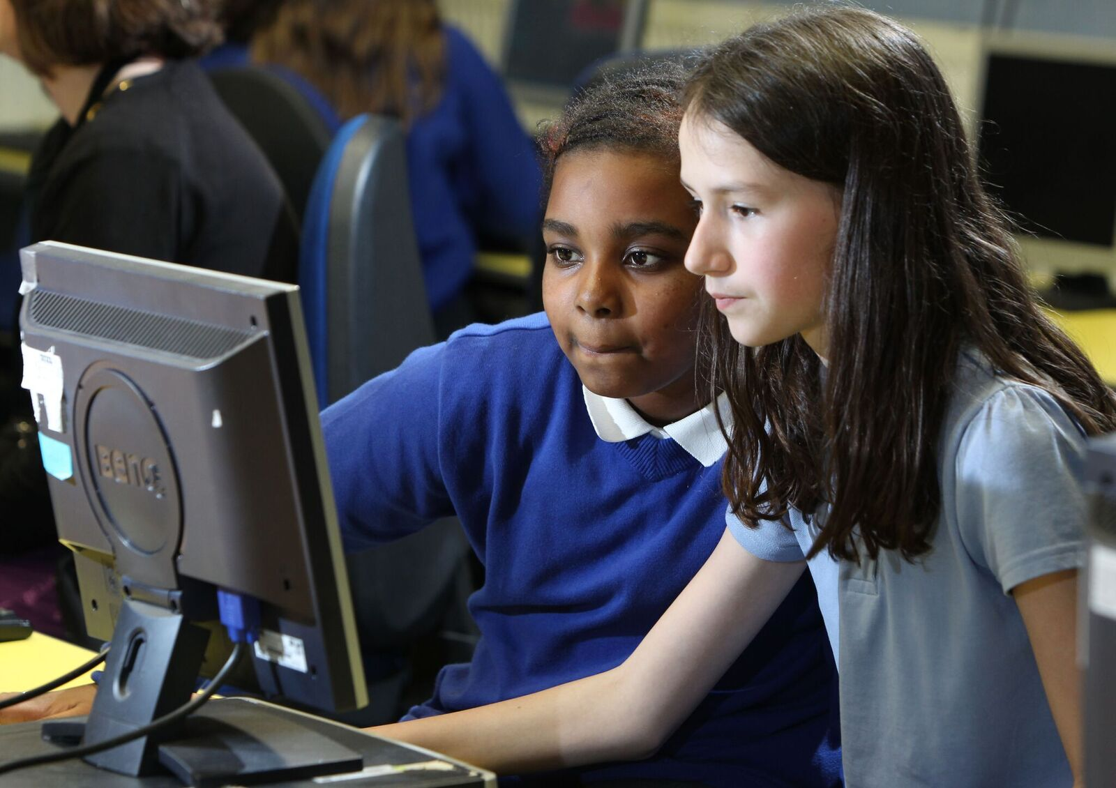 Mentors will be sent into classrooms to help address the gender gap in the digital technology sector