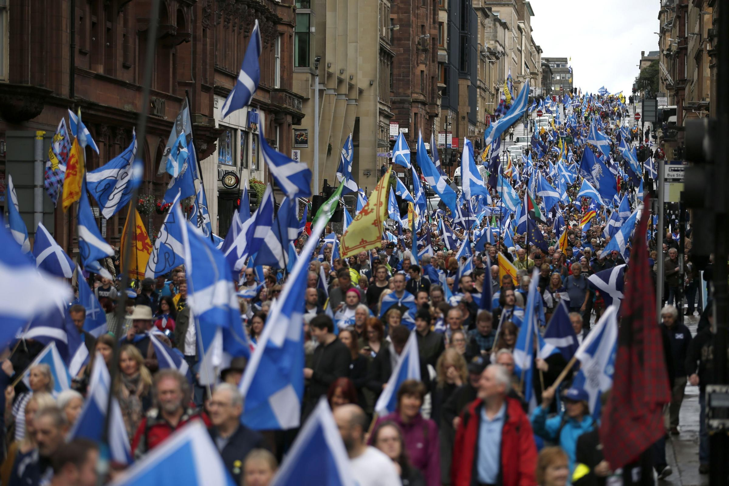 All Under One Banner's last march through Glasgow led to no arrests
