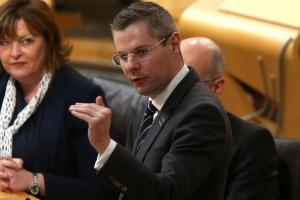 While claiming the economy is resilient, Finance Secretary Derek Mackay has in fact exposed its fragility