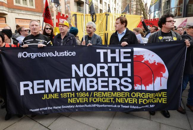 Campaigners say the Battle of Orgreave and the Hillsborough disaster are inextricably linked