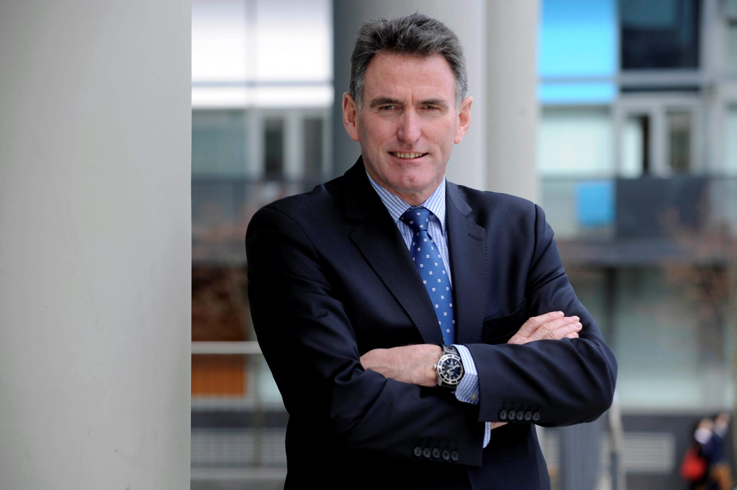 Ross McEwan said the bank was a 'big part' of the financial crash