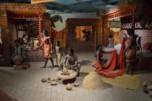 A reconstruction of everyday life in the Indus civilisation from a New Delhi museum