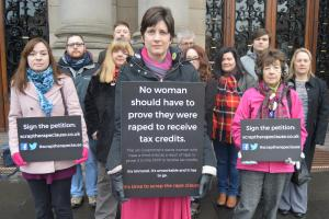 MP Alison Thewliss has campaigned tirelessly against the rape clause