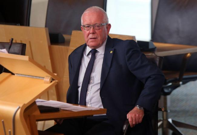 Bruce Crawford revealed the SNP's intentions in a response to the letter from 50 MEPs who said they would welcome Scotland back into the EU