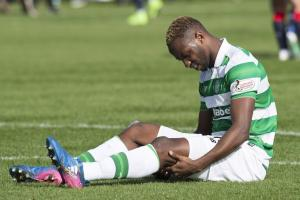 Celtic striker Moussa Dembele is facing a six-week layoff