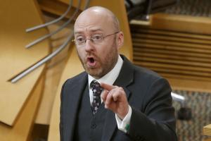 Patrick Harvie said viewers would be