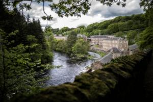 New Lanark, the former cotton mill village, is among South Lanarkshire's prime tourist attractions