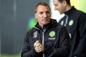 Celtic manager Brendan Rodgers says his side will not lack motivation at Ibrox today