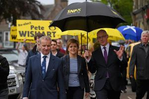 The First Minister will launch the SNP manifesto today