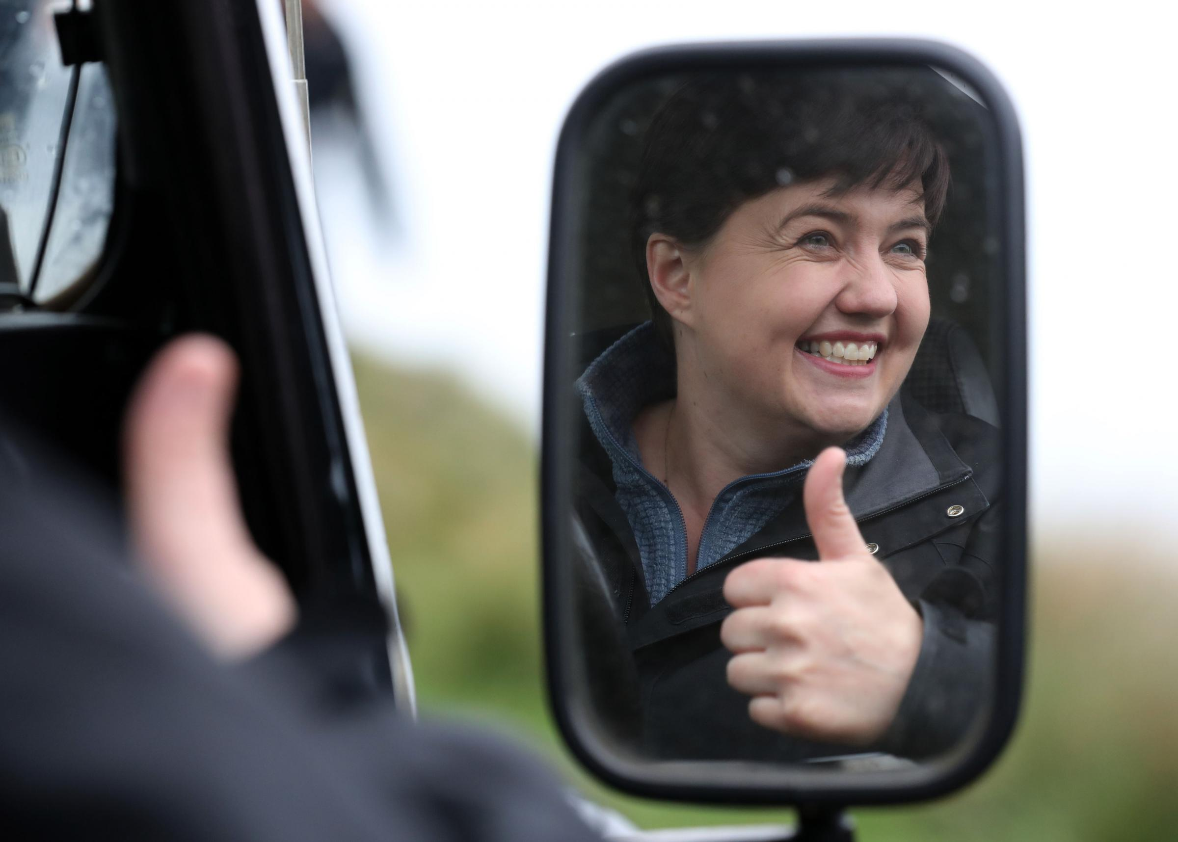Boorish and awkward, Ruth Davidson is the incarnation of a Scotland that isn't comfortable in the world