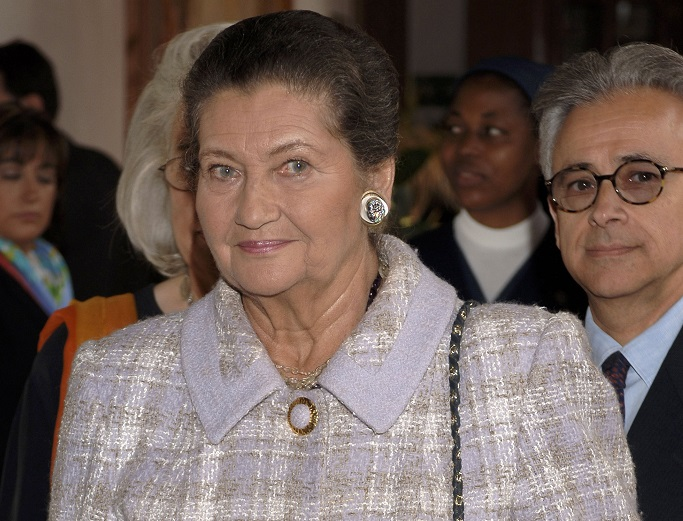 Simone Veil, Holocaust survivor and former president of the European Parliament, who died on June 30