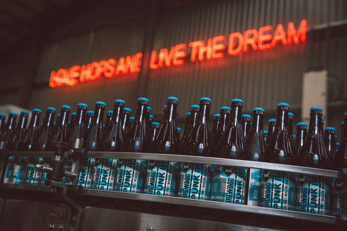 BrewDog was urged to review the arrangements with its courier service