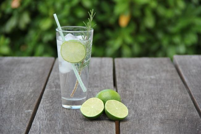 A gin and tonic is a simple classic