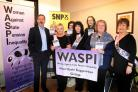 MP Ronnie Cowan with WASPI campaigners