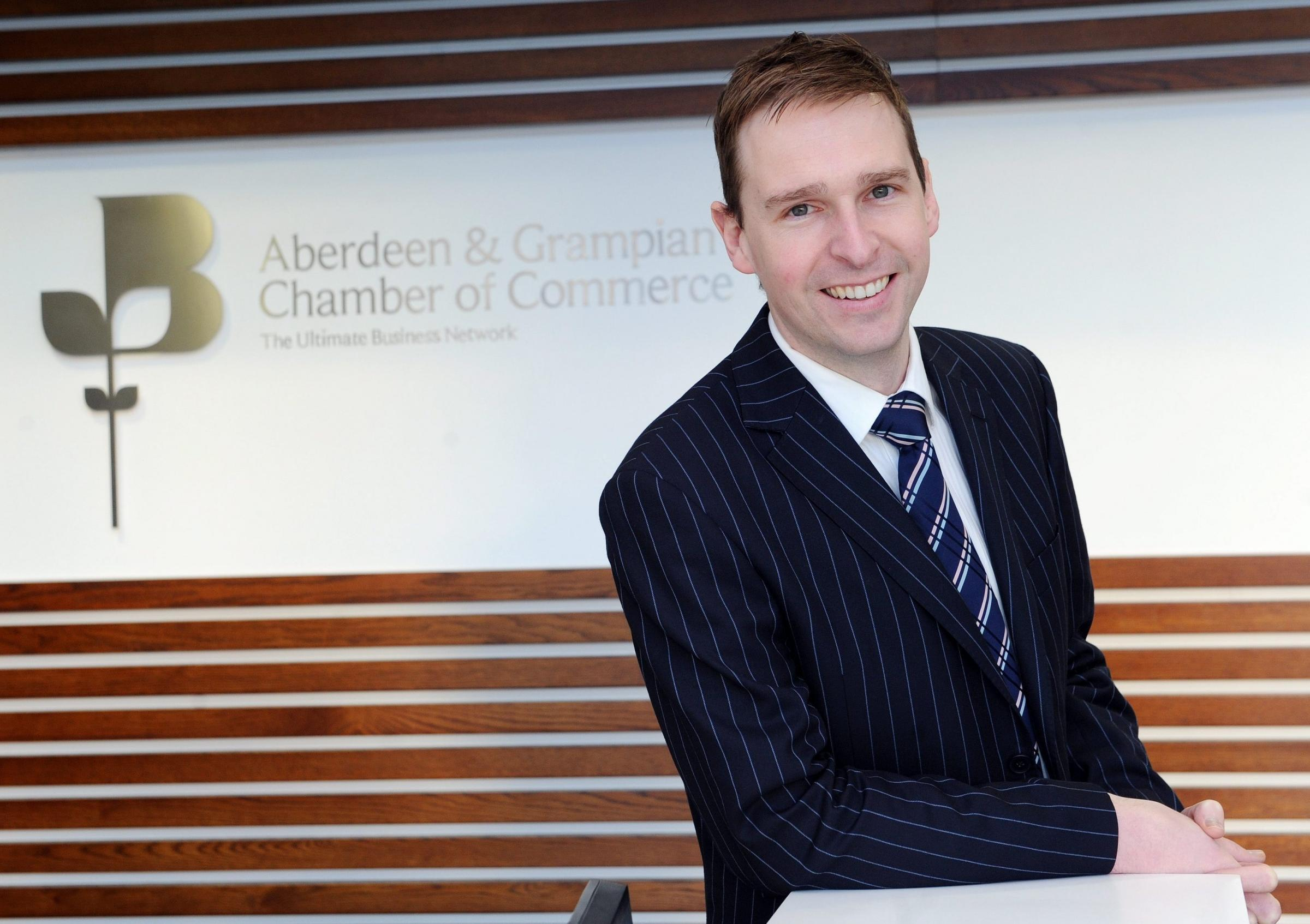 James Bream of Aberdeen and Grampian Chamber of Commerce