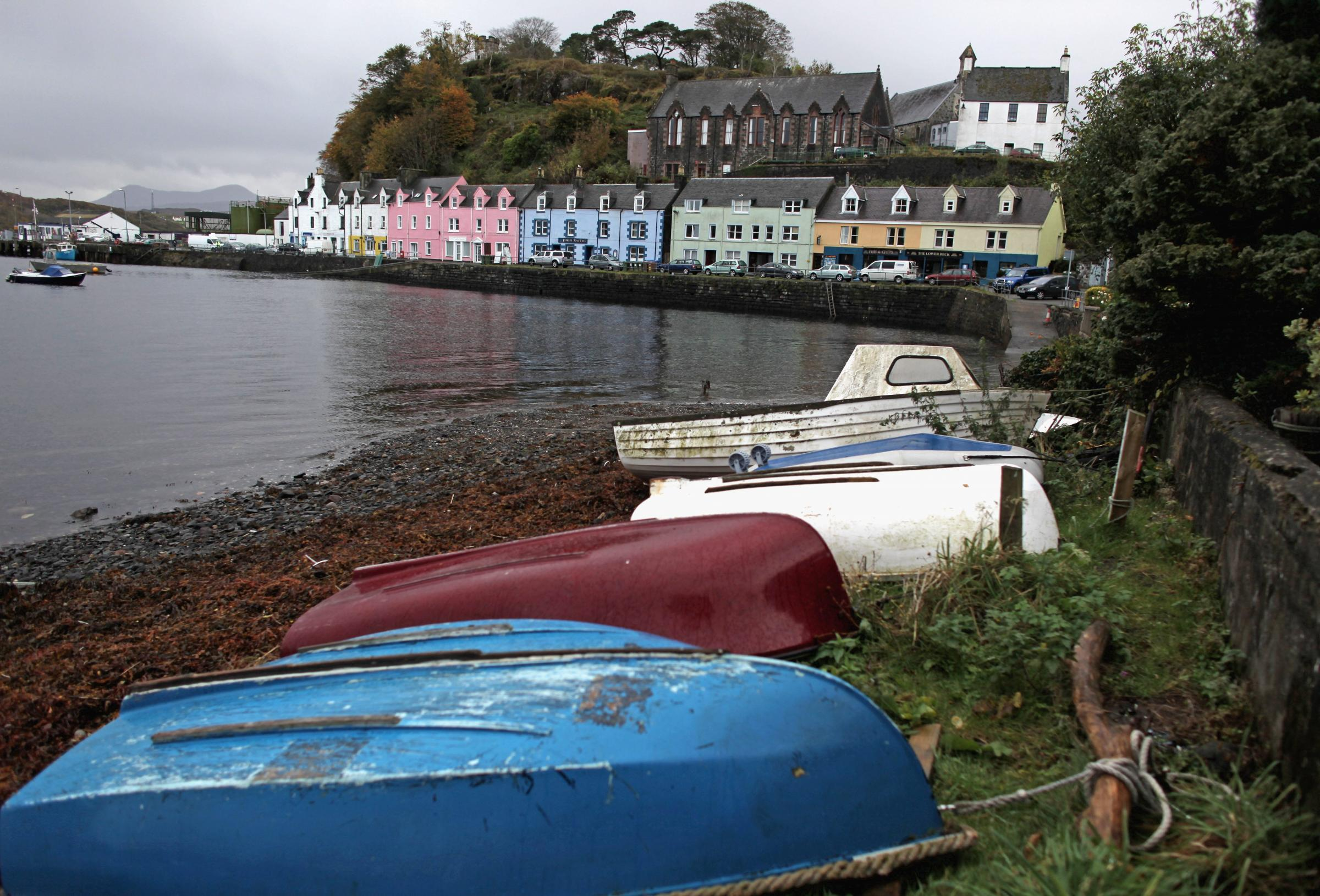 Portree on the Isle of Skye. Photo by Jeff J Mitchell/Getty Images
