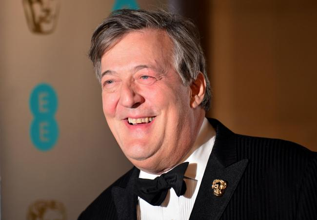 Comedian Steven Fry was the subject of a blasphemy investigation in Ireland this year
