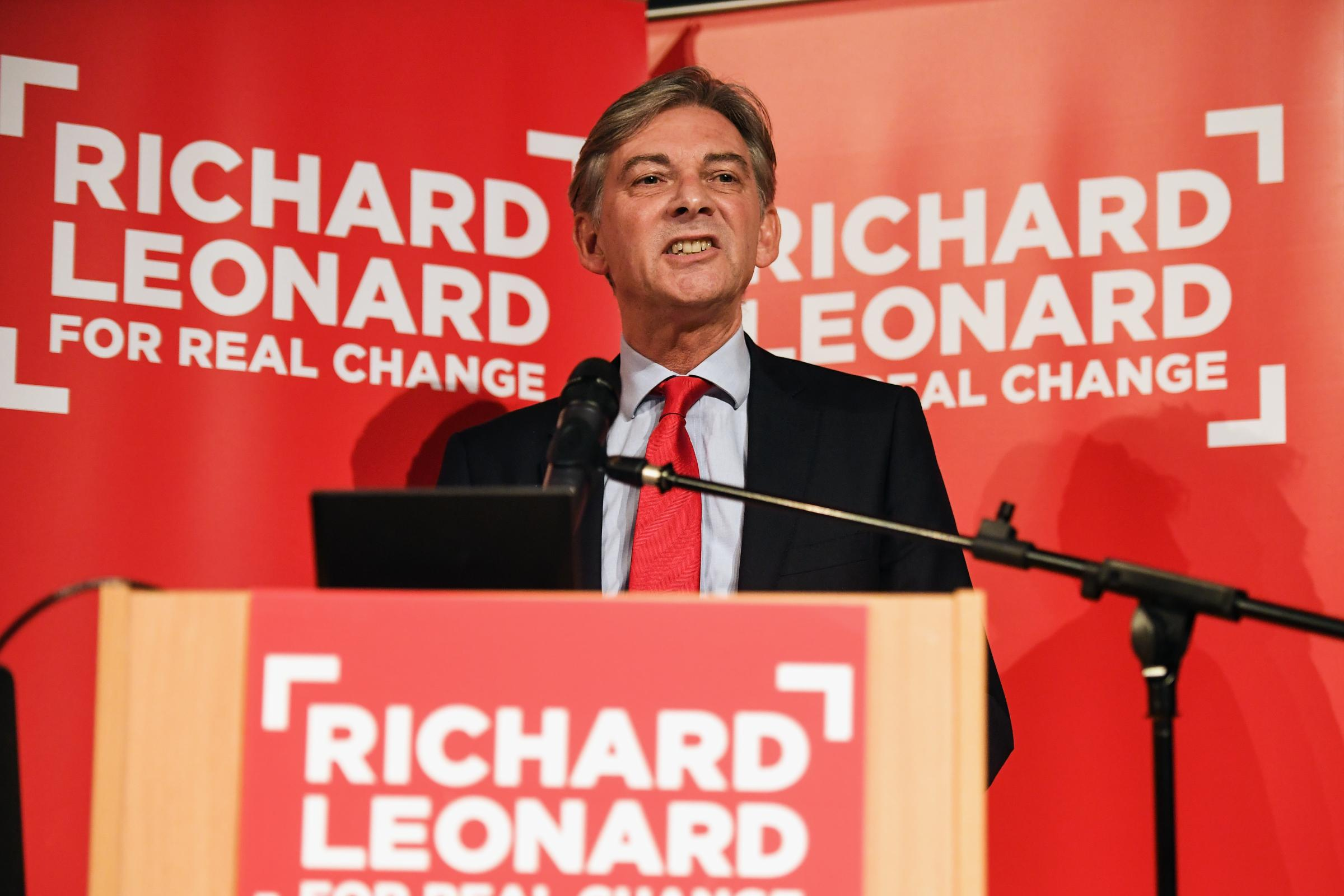 Scottish Labour leadership candidate Richard Leonard's statement was described as 'foolish'