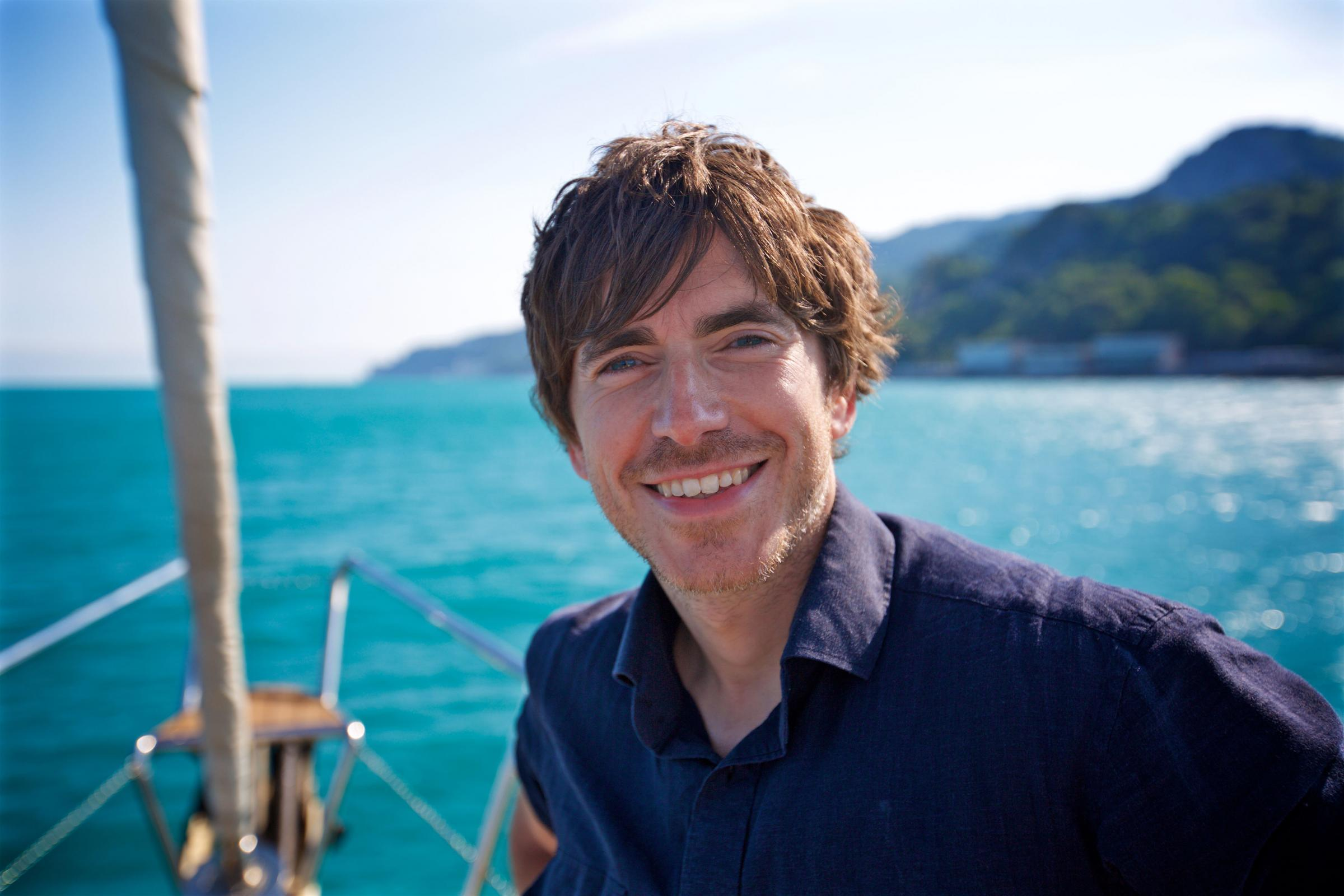 Simon Reeve has journeyed across Russia for his show