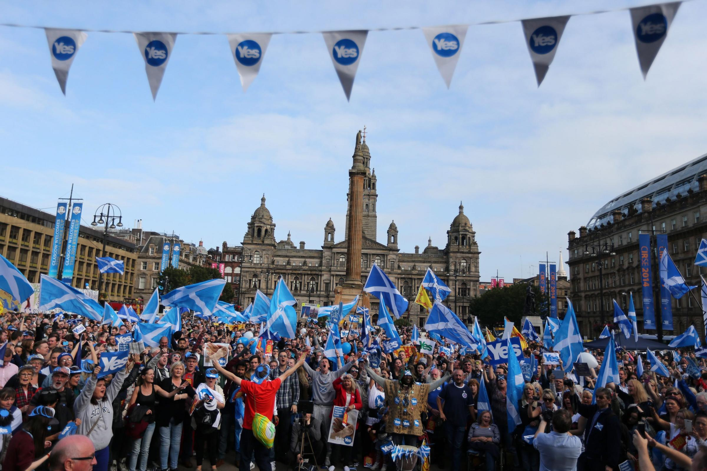 Westminster is forced to debate second Scottish independence referendum