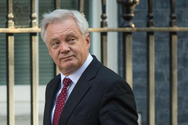 David Davis' department refused to be drawn on the issue