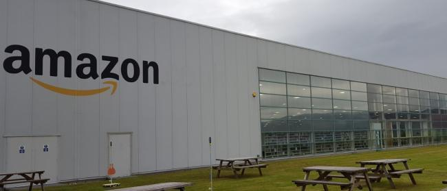 Amazon said a member of staff from its Gourock site is now in quarantine