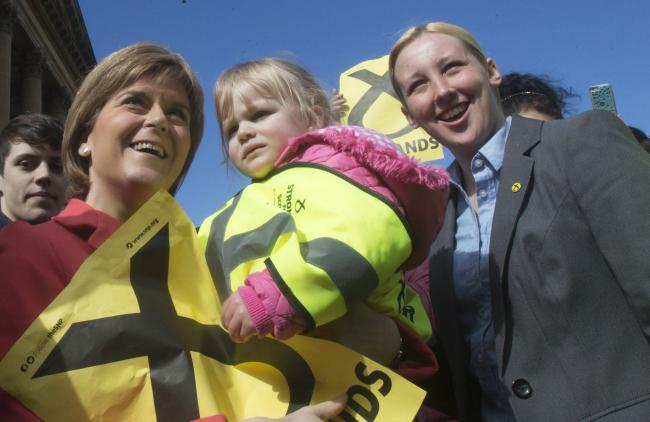Nicola Sturgeon and Mhairi Black were singled out because they aren't parents