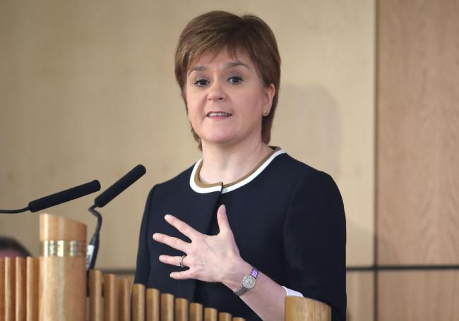 First Minister Nicola Sturgeon has accepted an invitation to visit Barcelona