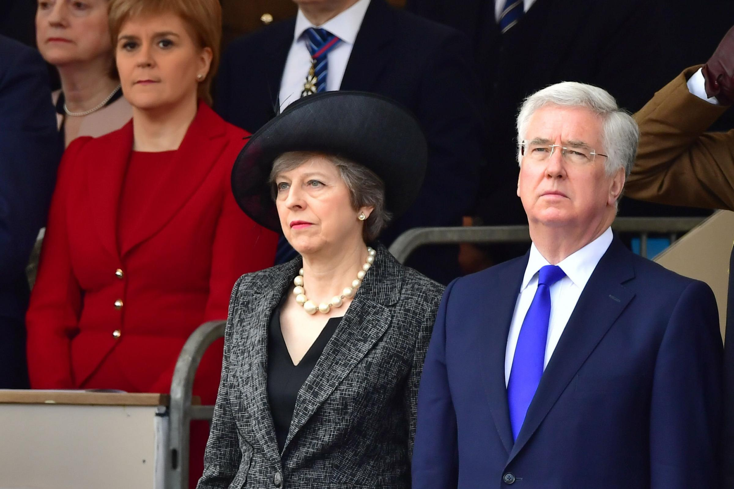 Theresa May may be forced to reshuffle her Cabinet sooner than planned following the resignation of defence secretary Michael Fallon