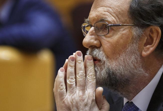 Evidence against Mariano Rajoy is circumstantial. Photograph: Getty