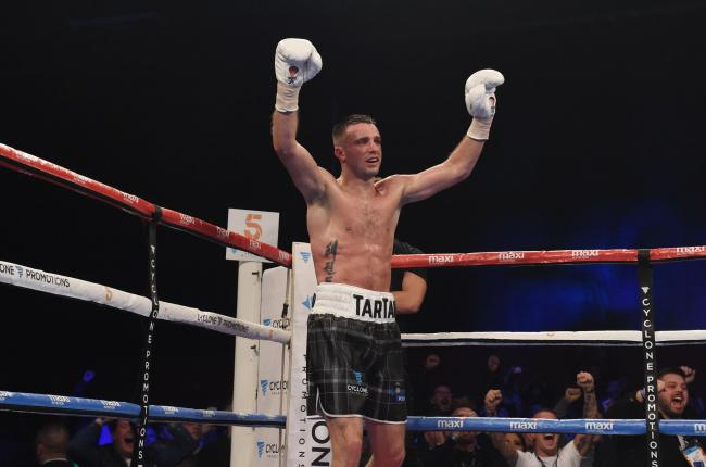 Josh Taylor aims to continue his progress in the pro ranks in 2018. Picture: SNS