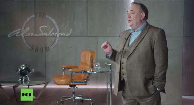 Ofcom imposed no sanction on the Alex Salmond Show