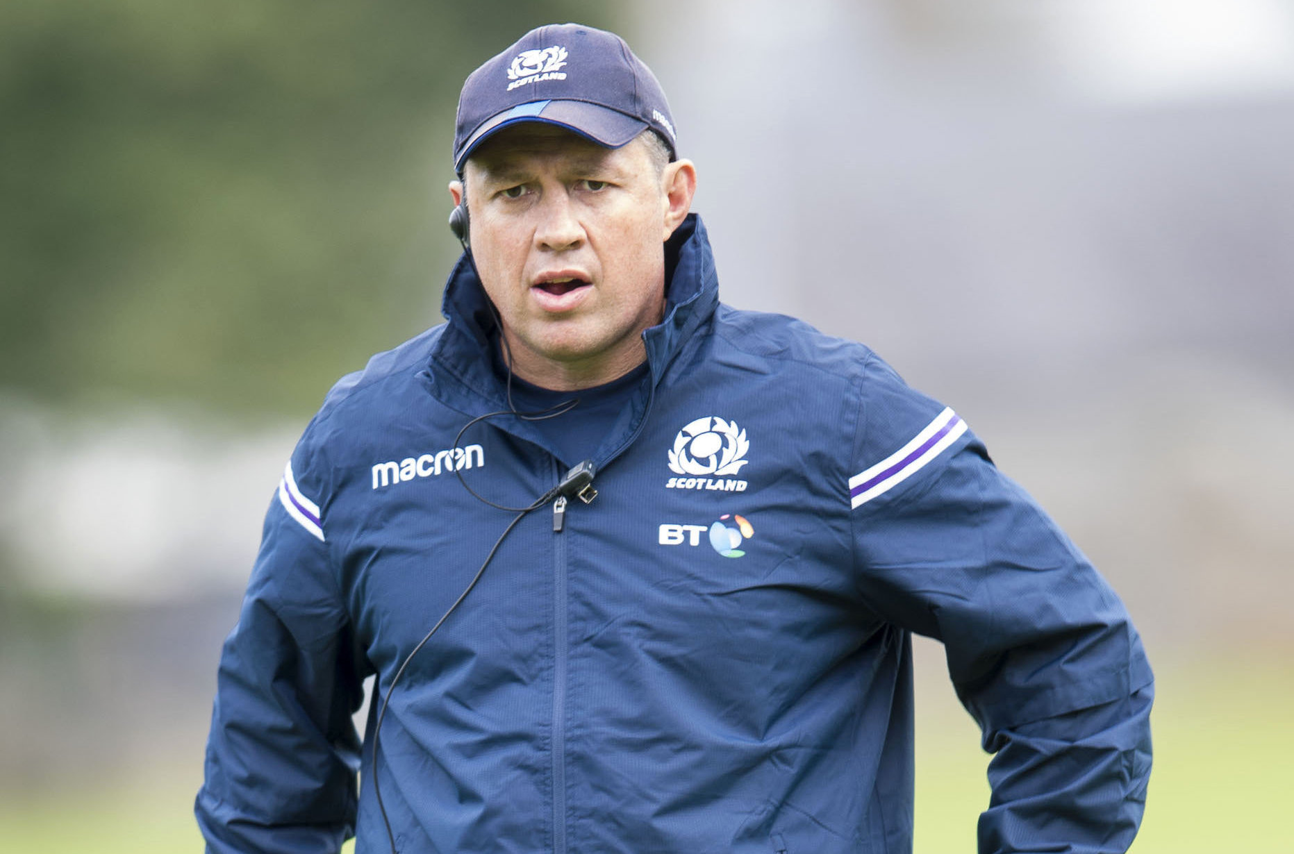 Scotland assistant coach Matt Taylor is responsible for the side's defence