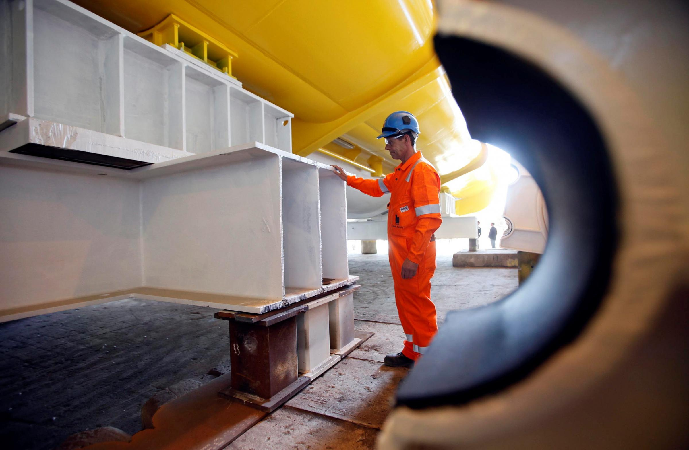 BiFab last year secured a £100 million contract for part of the £2.6 billion Beatrice Offshore Windfarm project
