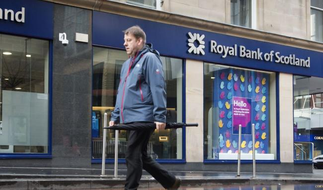 RBS says the closures have been driven by the fact more people are choosing to bank online or on mobile phones