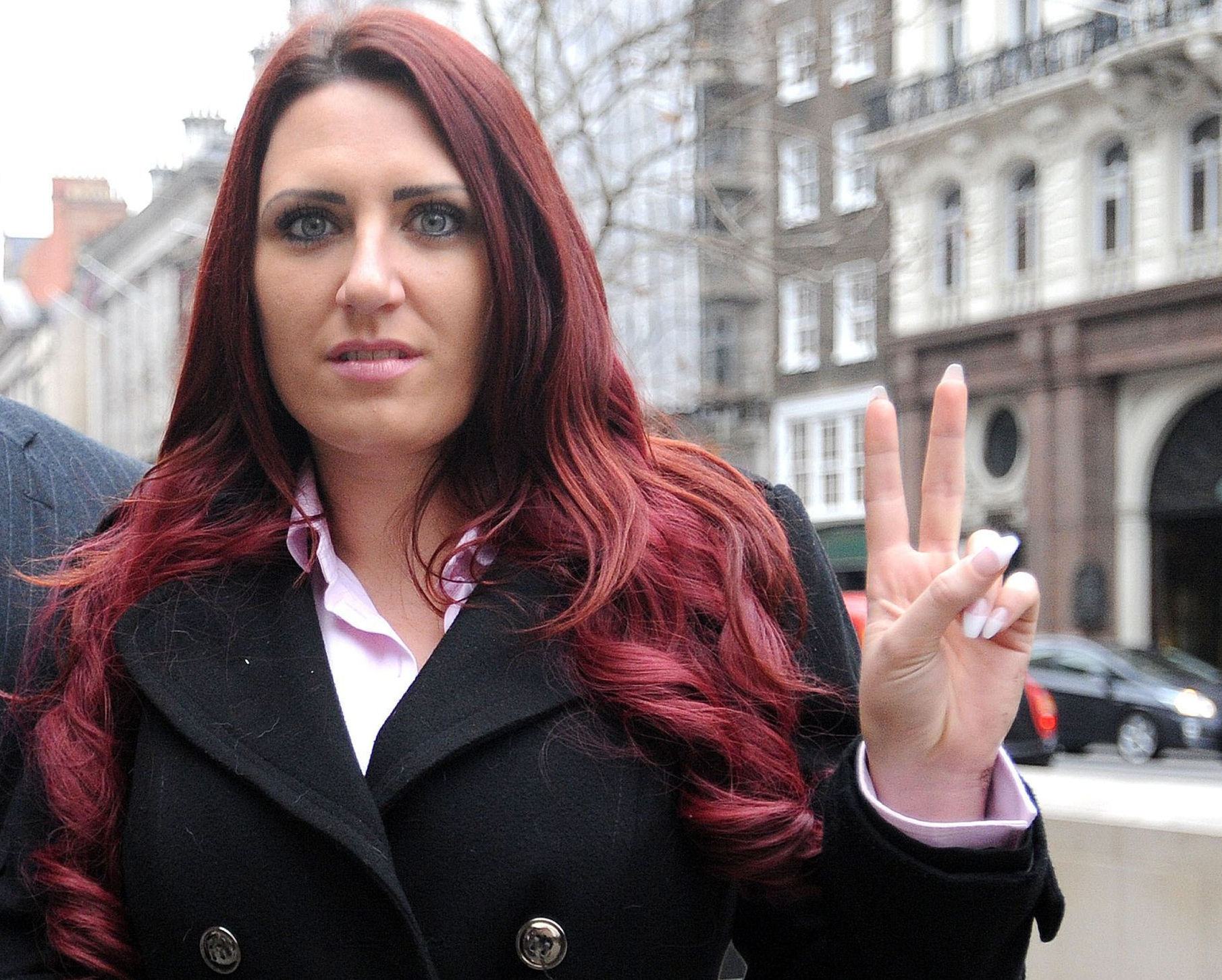 The 'activism' of Britain First's Jayda Fransen mainly consists of patrolling high streets intimidating women in hijabs