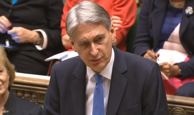 Chancellor Philip Hammond has faced calls to apologise over his remarks