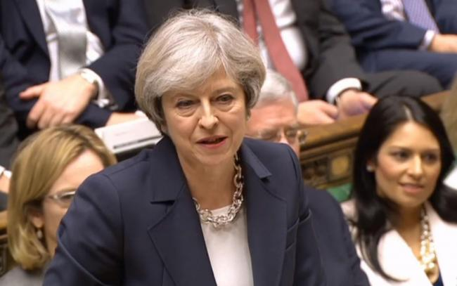 Theresa May has previously suggested she will leave Downing Street after her Brexit deal has been passed by Parliament