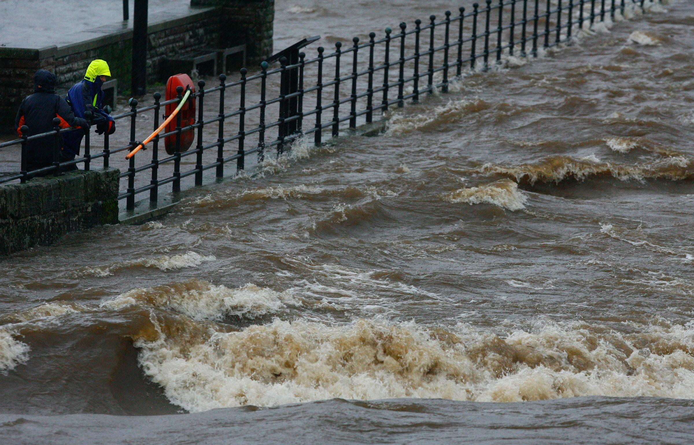 WATCH: Absolutely wild videos shared as major flooding hits Scotland