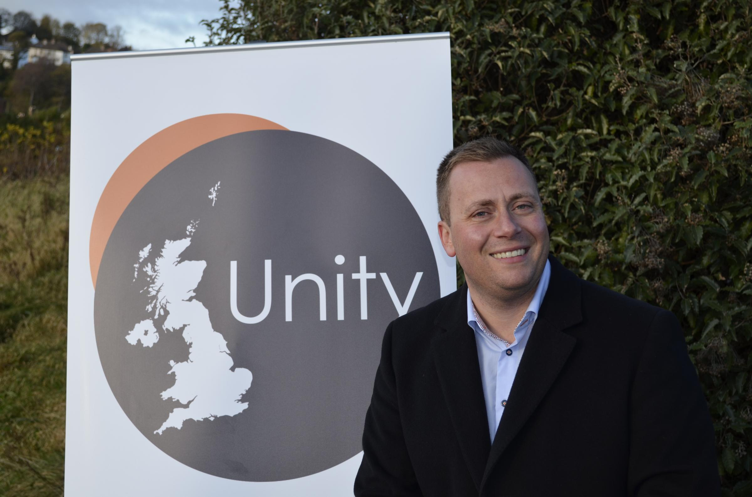 David Clews, spokesperson for UK Unity