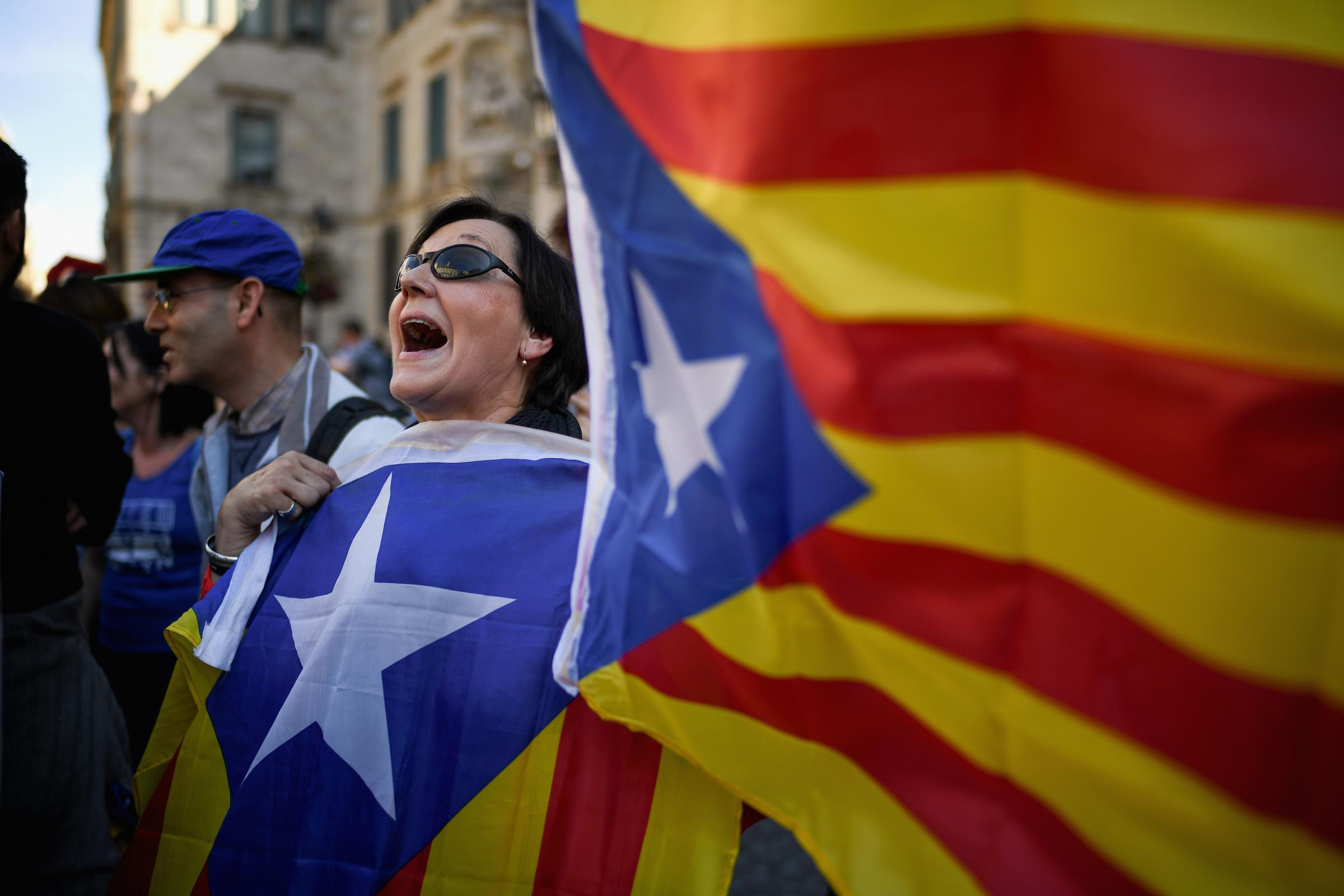 Catalan voters went to the polls in an election called by the Spanish government