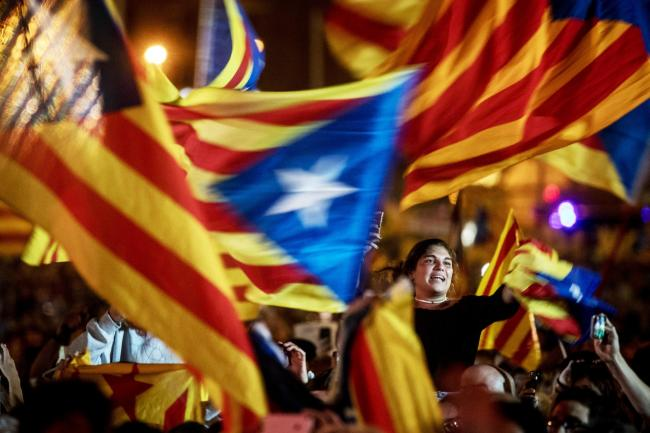 The pro-independence Junts per Catalunya is expected to win in terms of the number of seats and percentage of votes