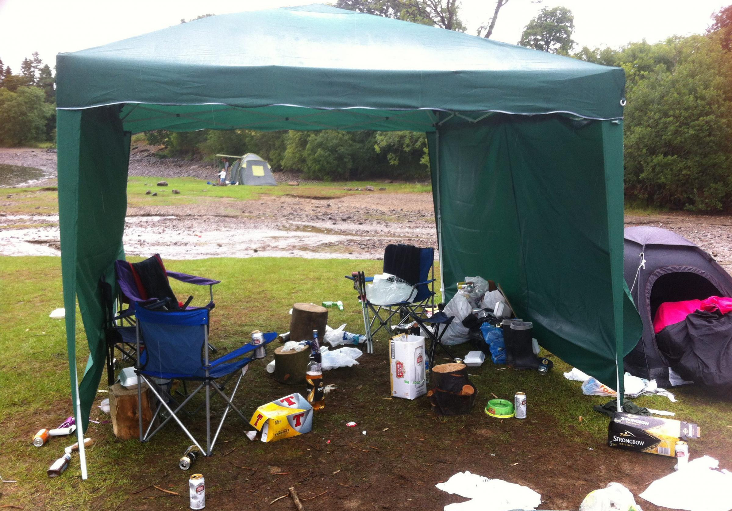 The camping rules are intended to stop people ruining the park's natural environment