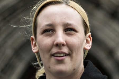 SNP MP Mhairi Black was speaking in the debate on the no-confidence motion in Theresa May's government