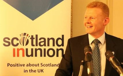 Alastair Cameron of Scotland in Union