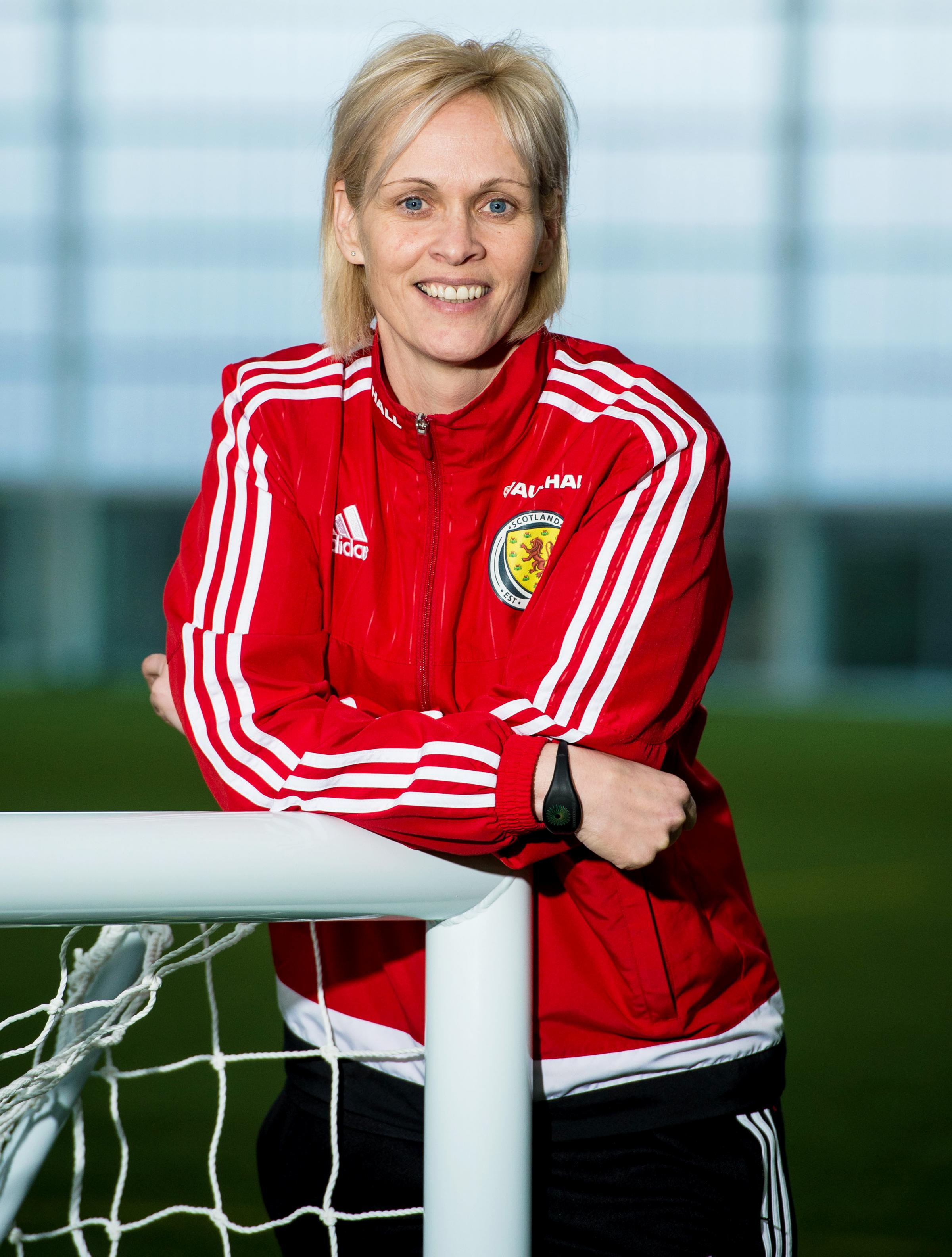 Scotland head coach Shelley Kerr announces her squad for the forthcoming Winter Training Camp. Picture: SNS
